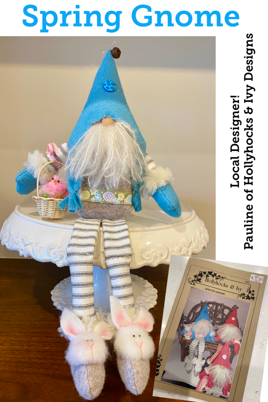 Spring Gnome Pattern