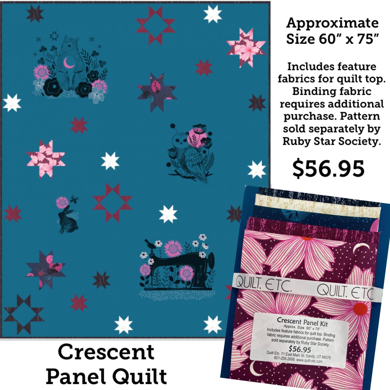 Crescent Panel Quilt
