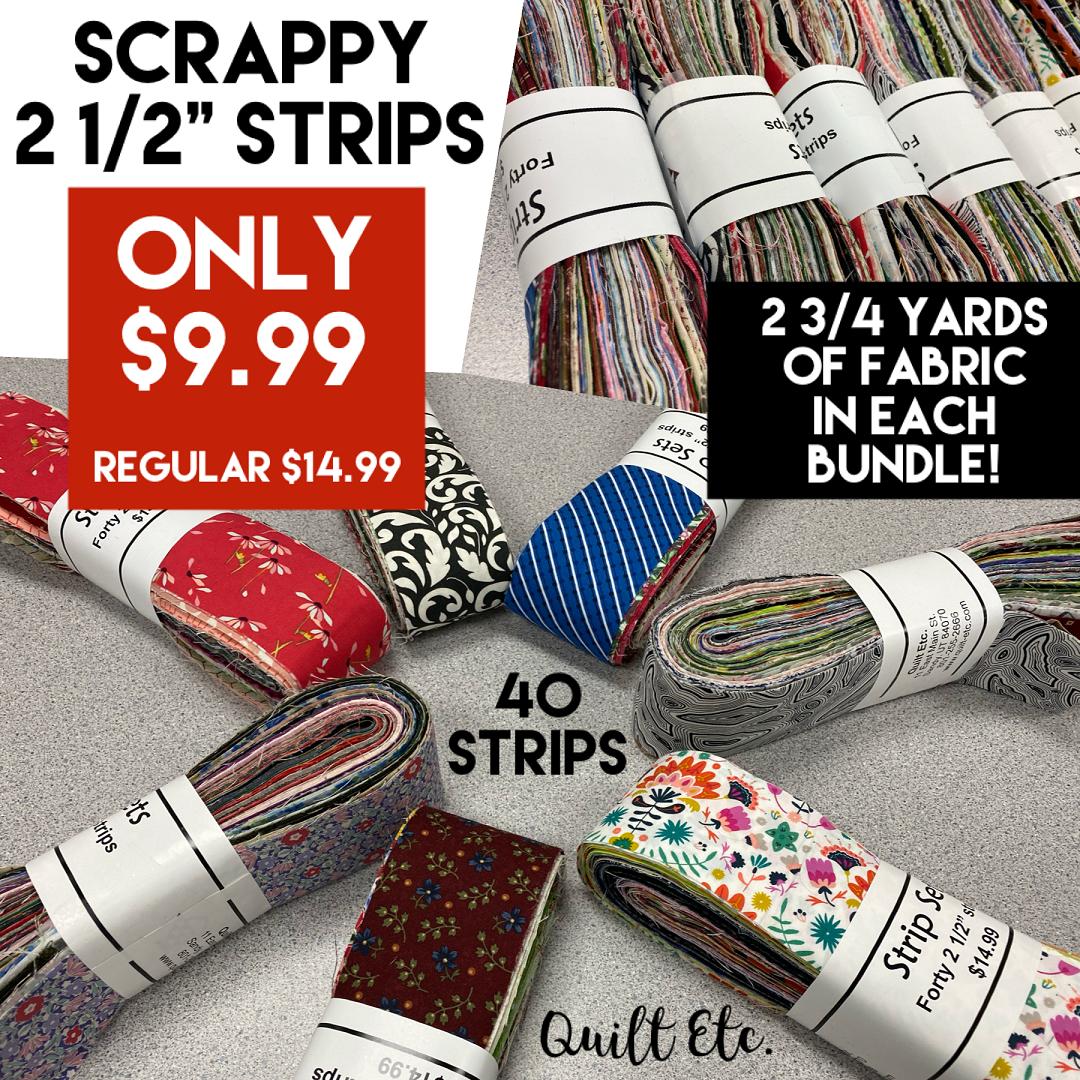 Scrappy 2 1/2 Strips