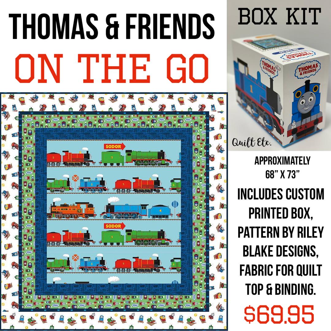 Thomas & Friends - On the Go Box Kit