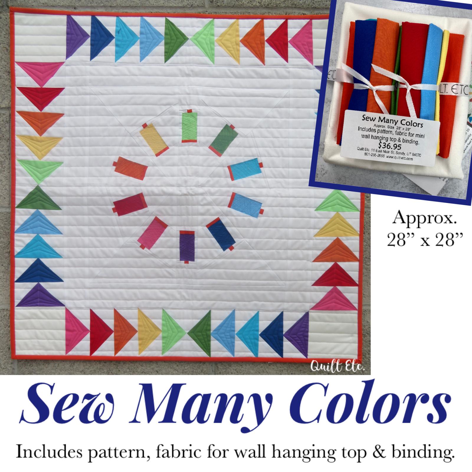 Sew Many Colors