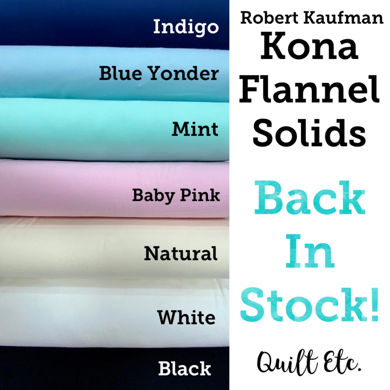 Kona Flannel Solids