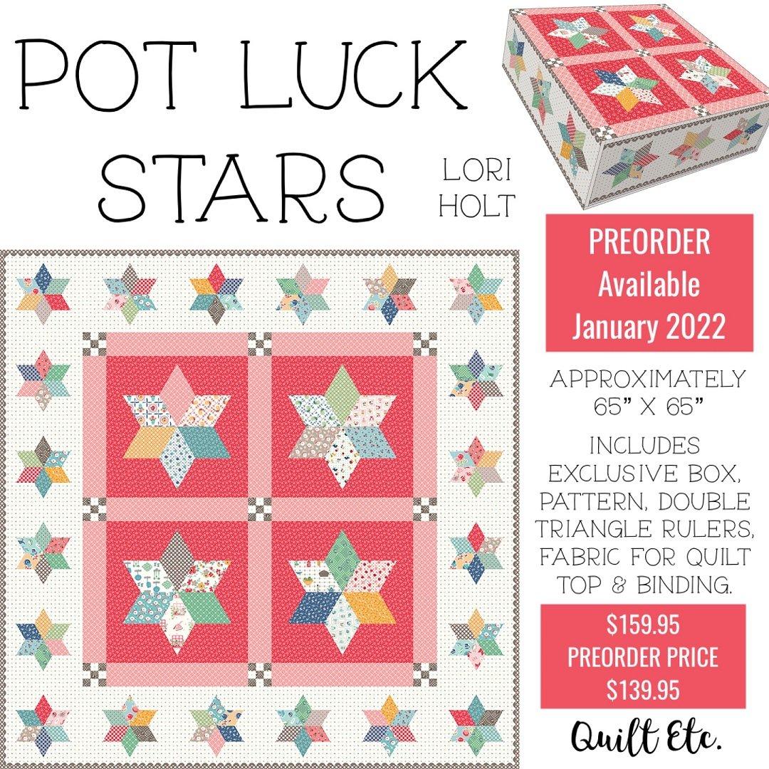 PREORDER Pot Luck Stars Box Kit