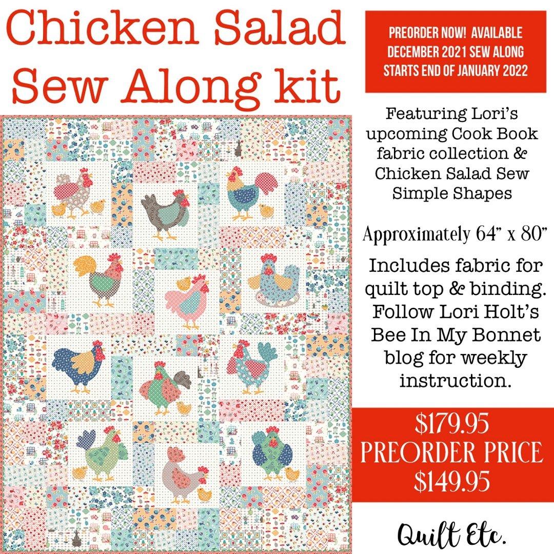 PREORDER Chicken Salad Sew Along Kit