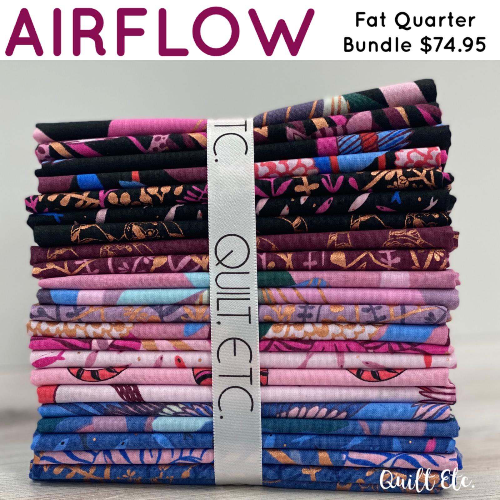 Air Flow Fat Quarter Bundle