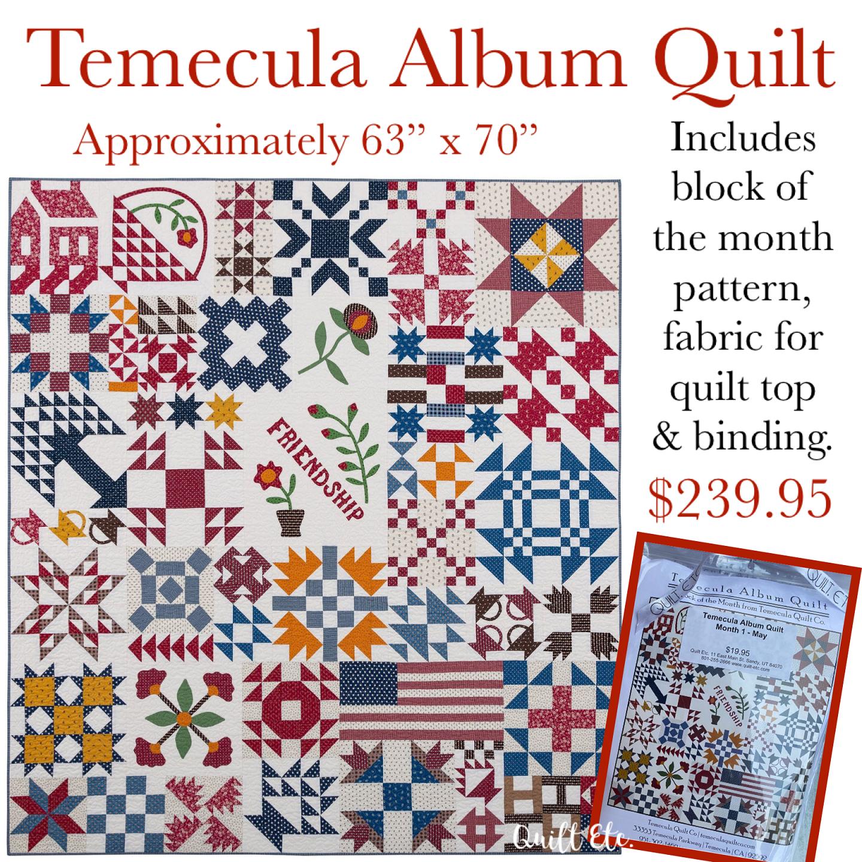 Temecula Album Quilt