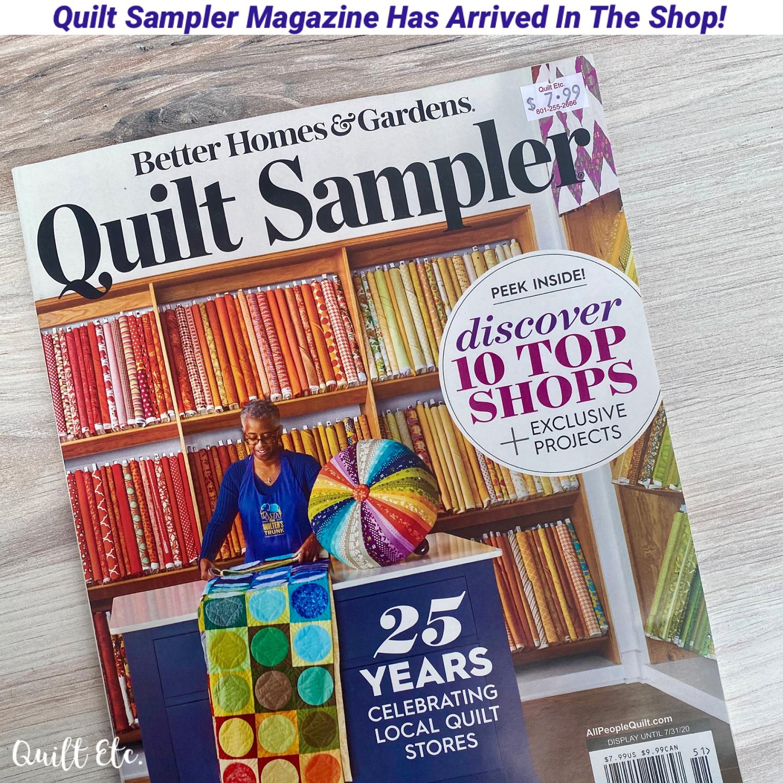 Quilt Sampler Magazine Spring/Summer 2020