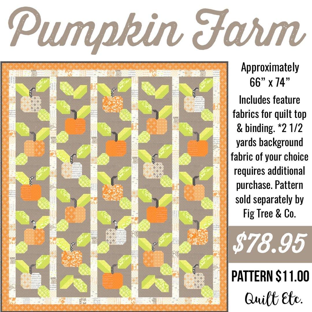 Pumpkin Farm Quilt