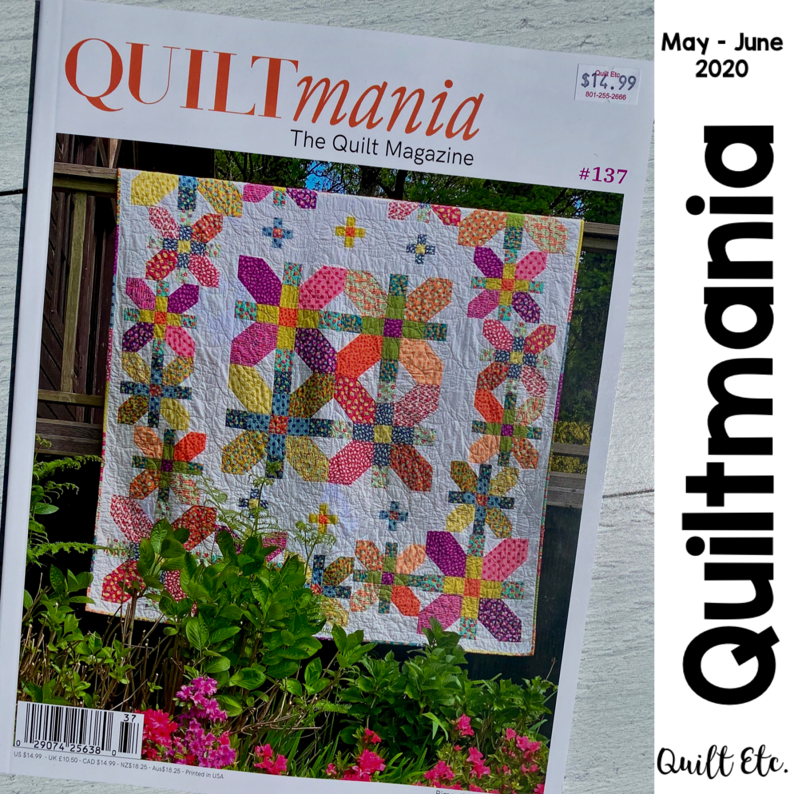 Quiltmania Magazine 137 May - June 2020