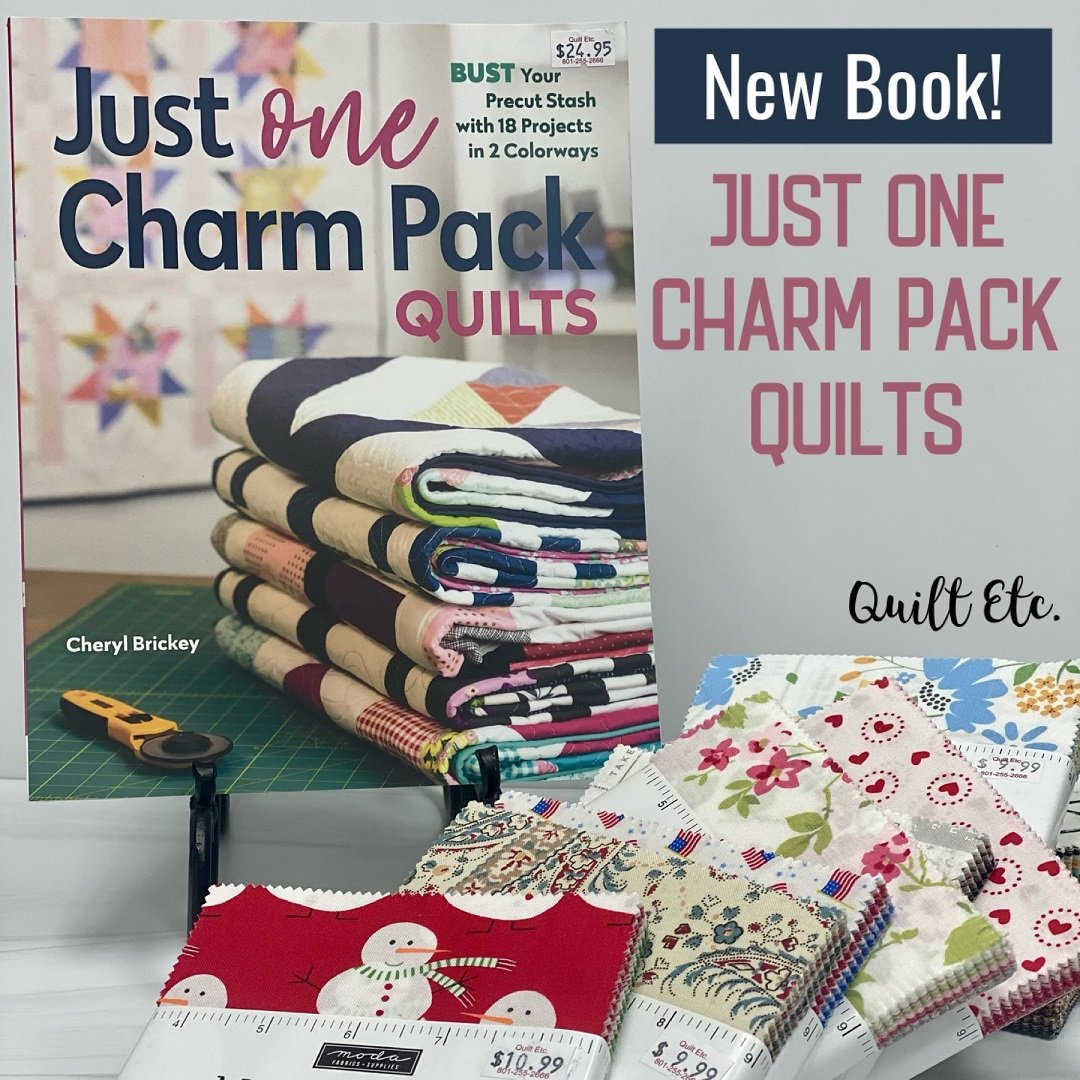 Just One Charm Pack Quilts