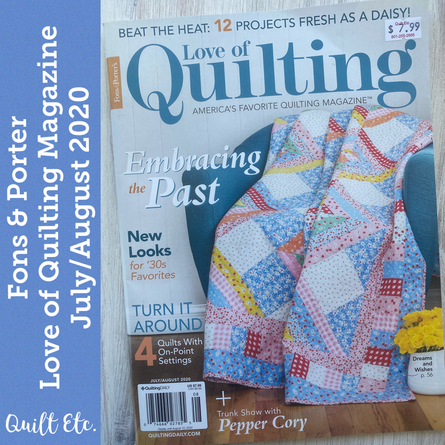 Love Of Quilting Magazine July/August 2020