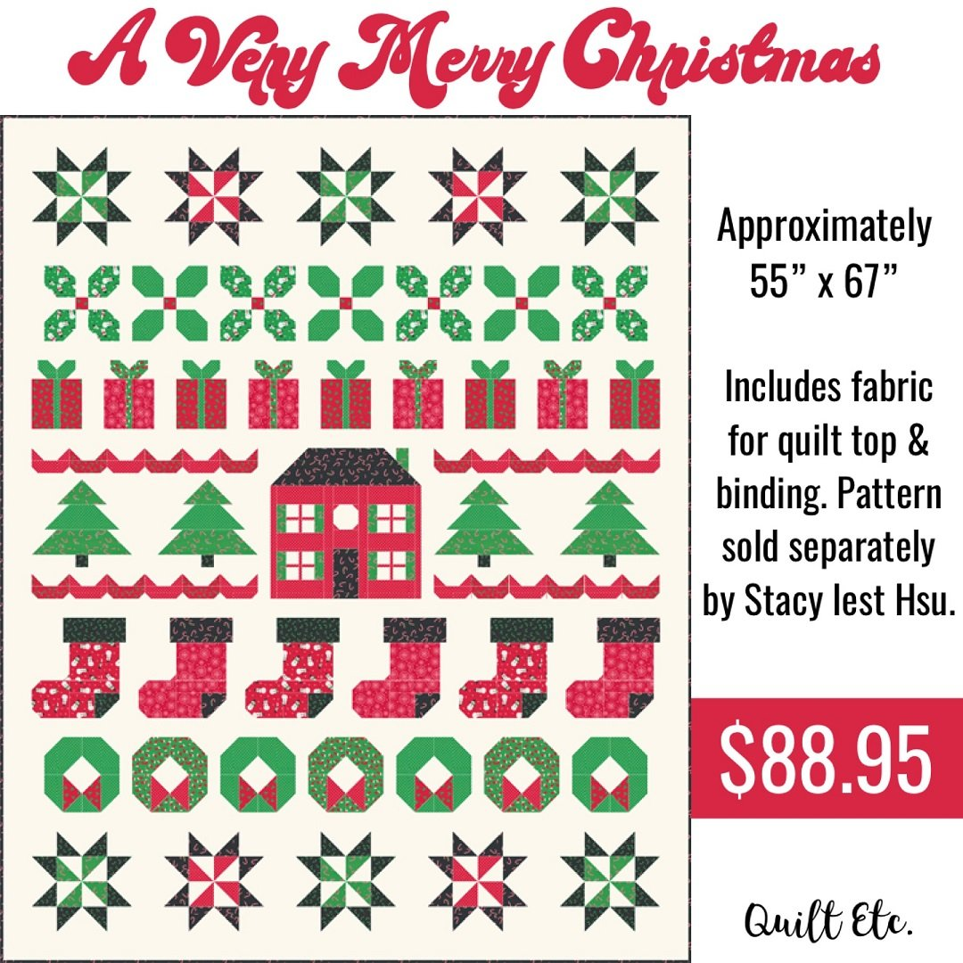 A Very Merry Christmas Quilt Kit