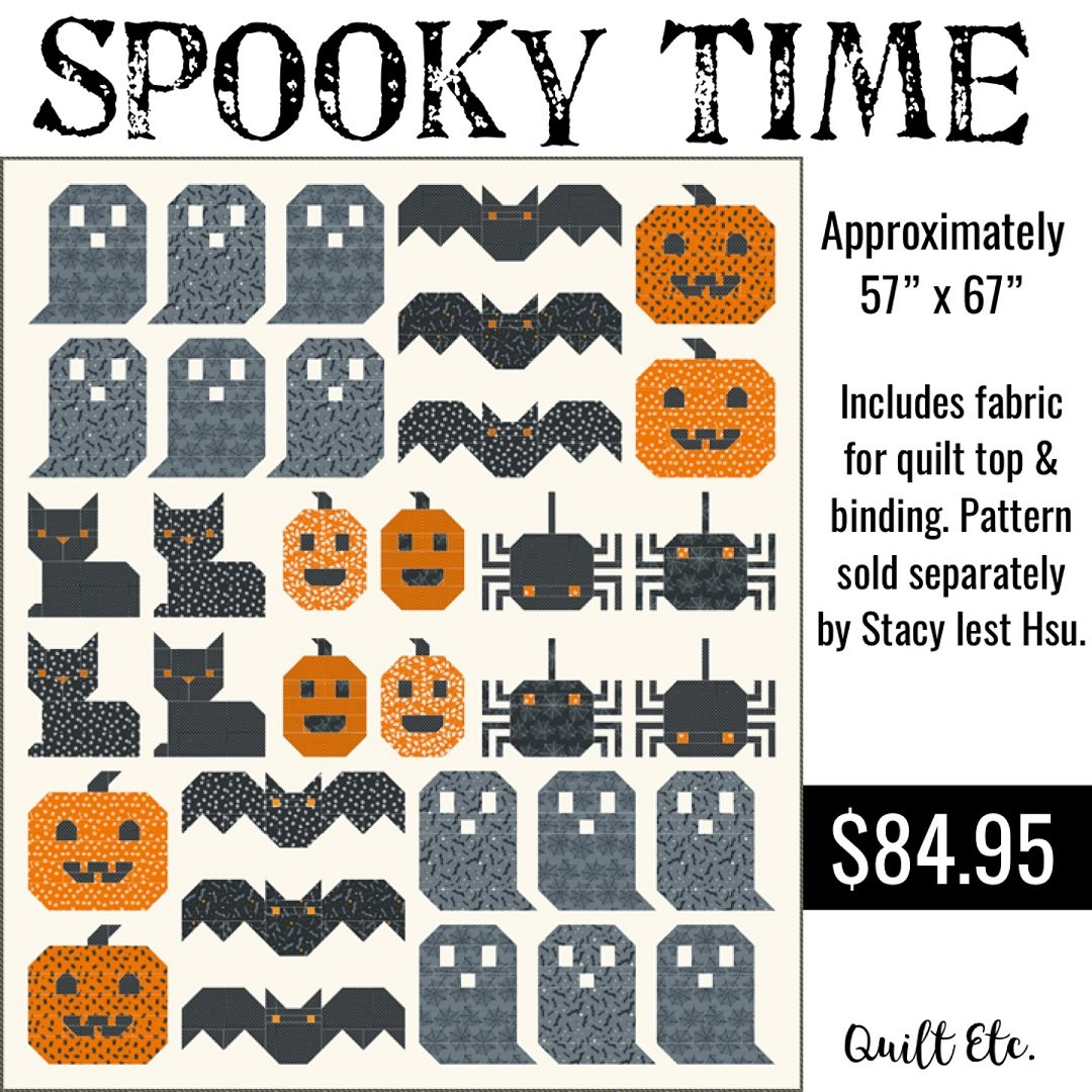 Spooky Time Quilt Kit