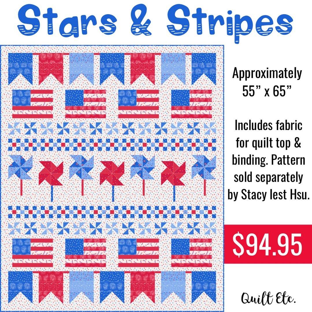 Stars & Stripes Quilt Kit
