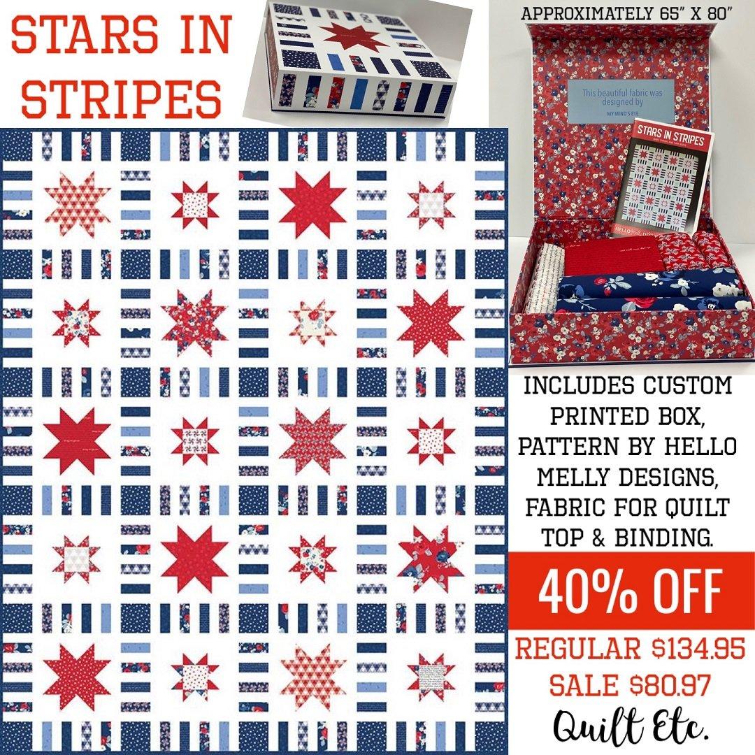 Stars In Stripes Box Kit
