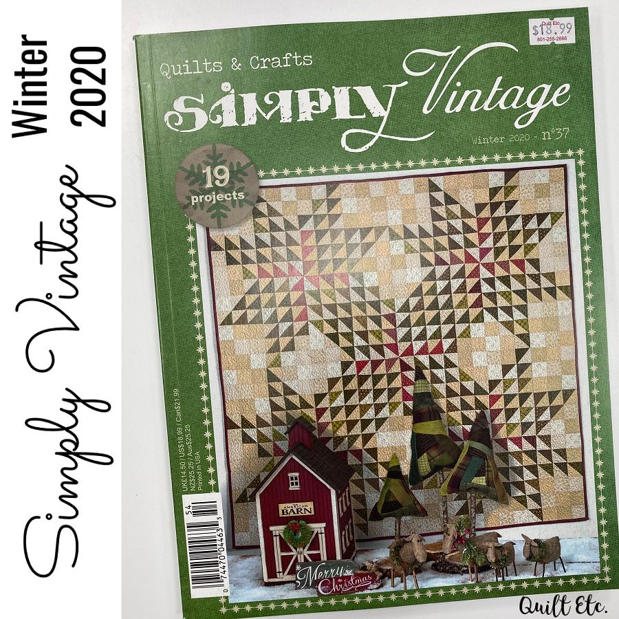 Simply Vintage Winter 2020 Magazine N37