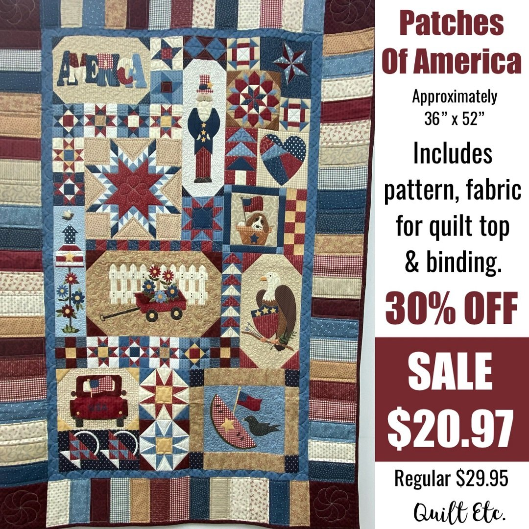 Patches Of America