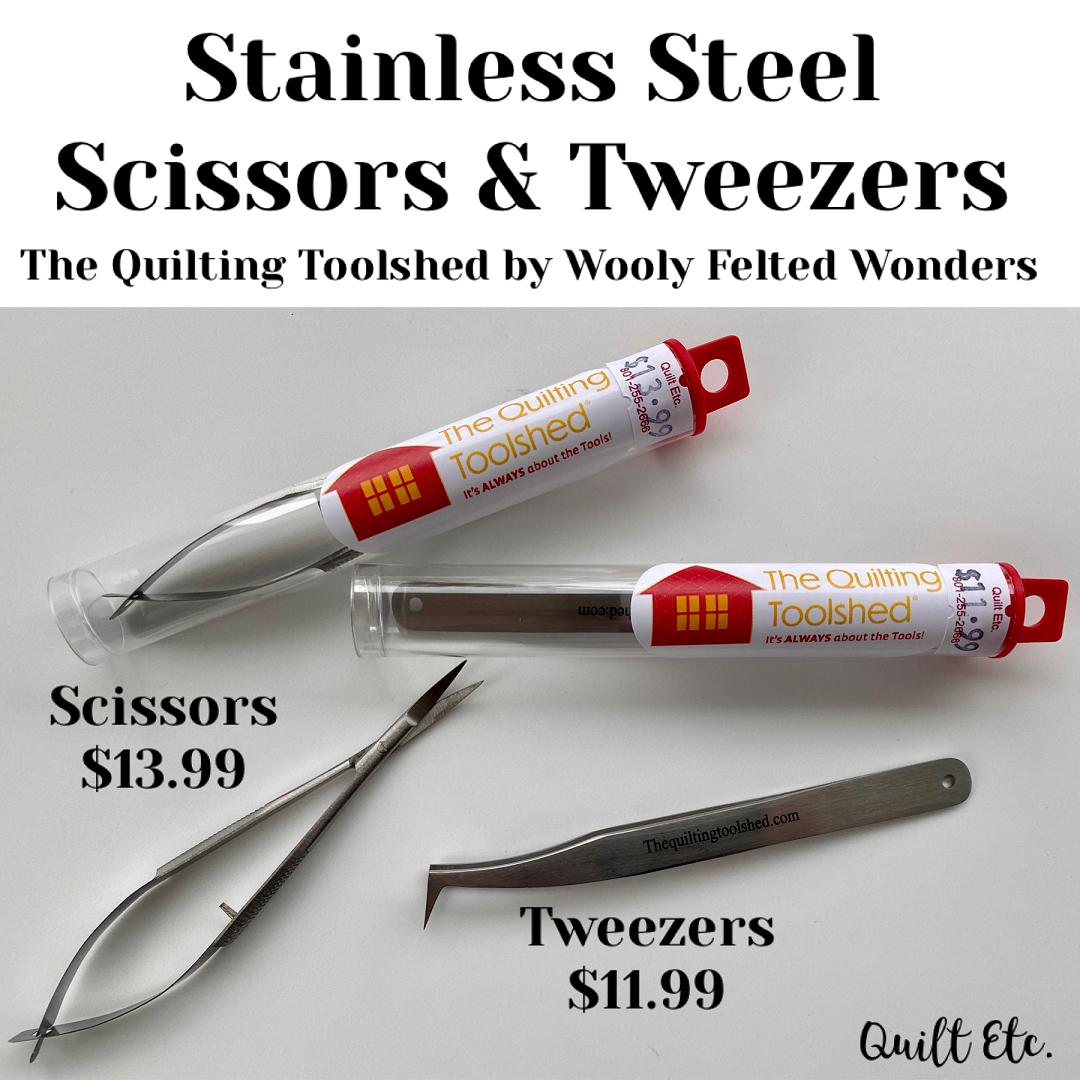 Stainless Steel Scissor & Tweezers