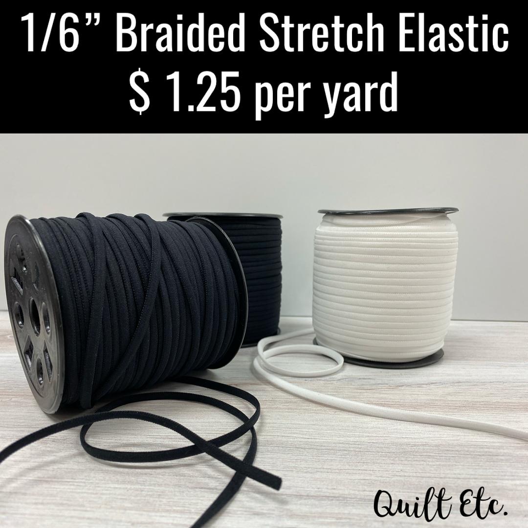 Braided Stretch Elastic 1/6