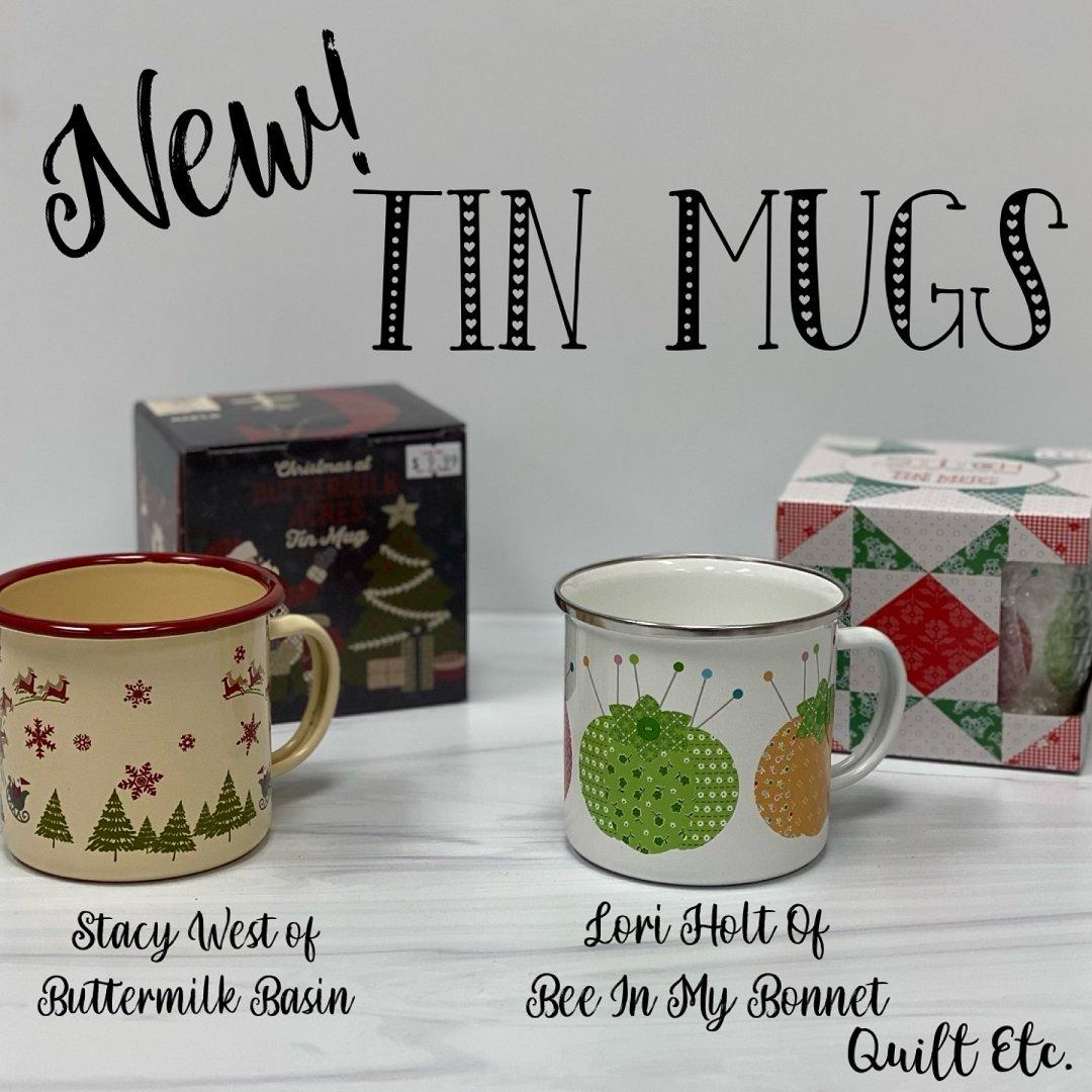Christmas Tin Mug