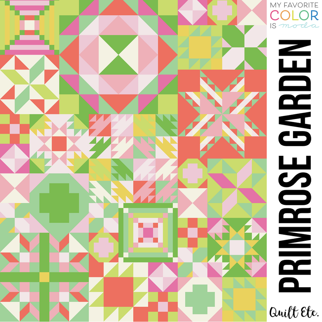 Primrose Garden - My Favorite Color Is Moda Sampler