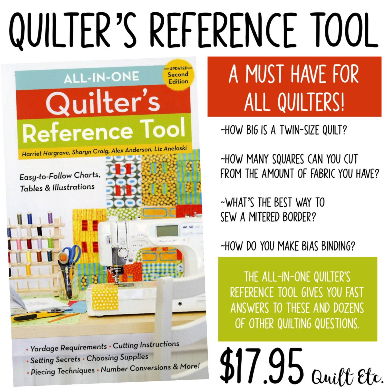 Quilters Reference Tool