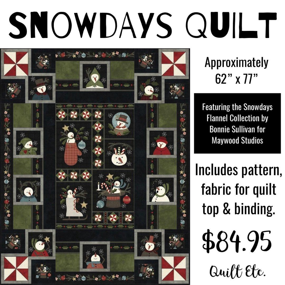Snowdays Quilt