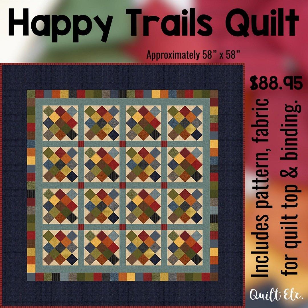 Happy Trails Quilt