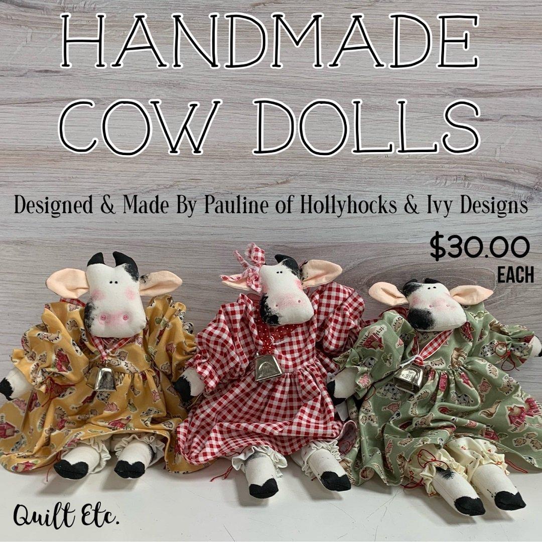 Handmade Cow Doll