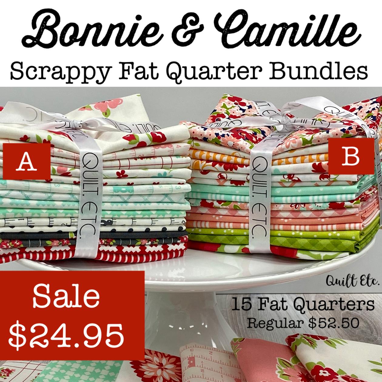 Bonnie & Camille Scrappy Fat Quarter Bundles