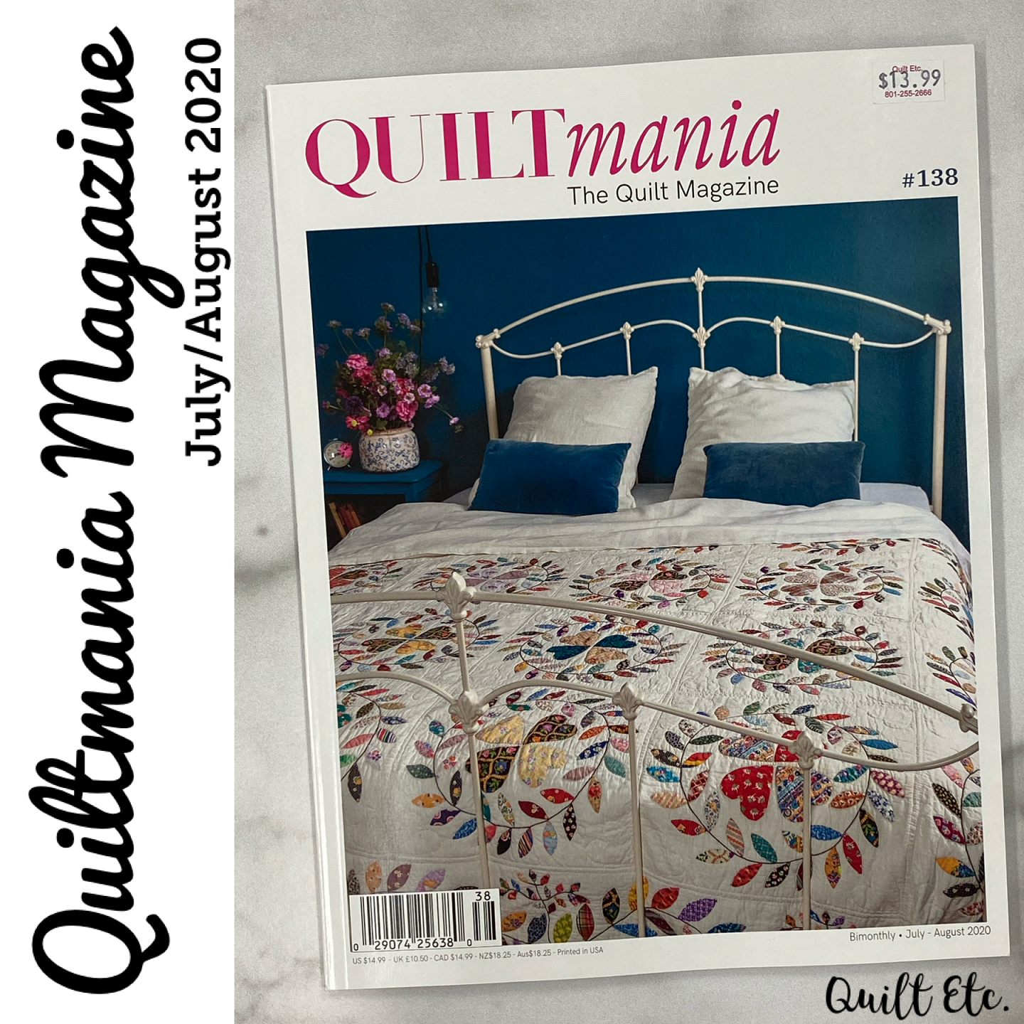 Quiltmania July/August 2020