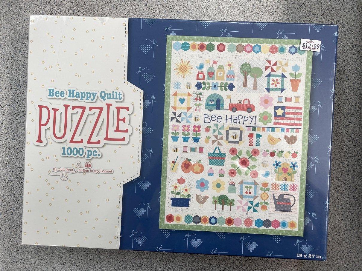 Bee Happy Quilt Puzzle