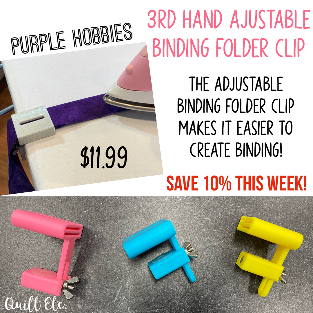 3rd Hand Adjustable Binding Folder Clip