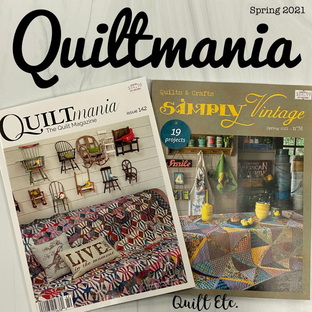 Quiltmania Spring 2021