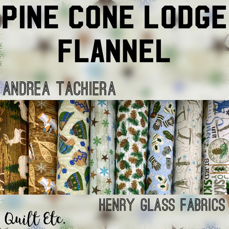 Pine Cone Lodge Flannel