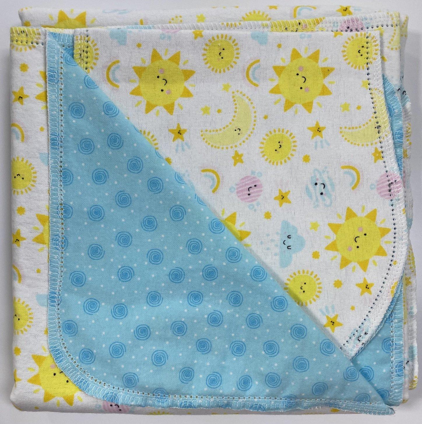 Hemstitched Receiving Blanket & Burp Cloth