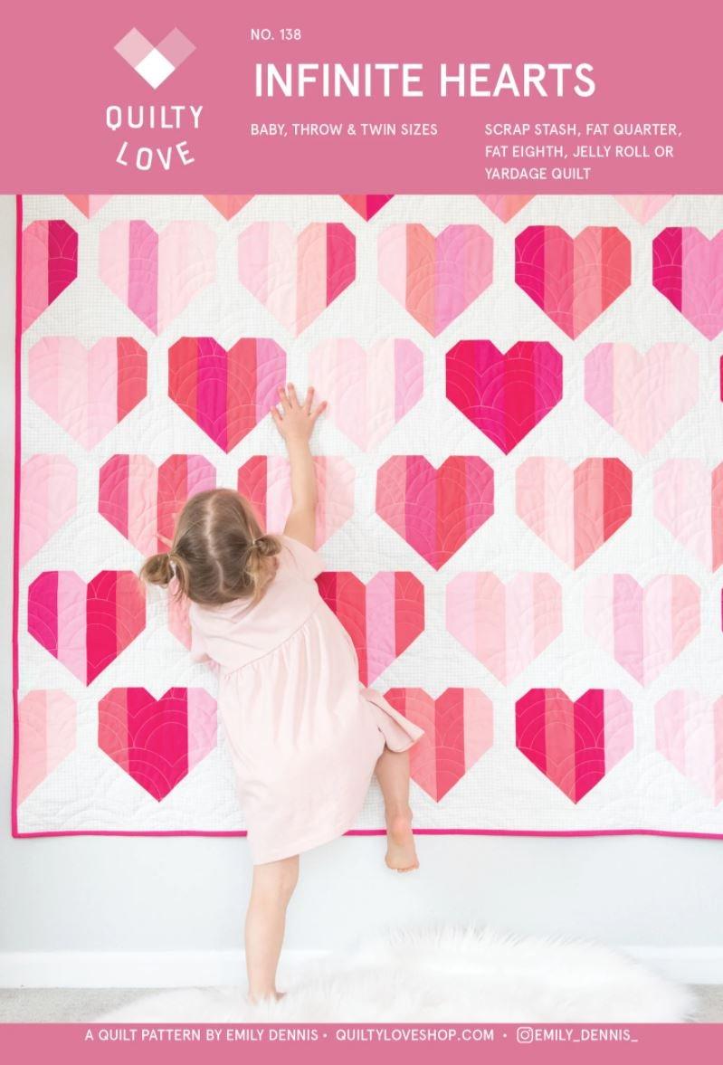 Infinite Hearts Pattern