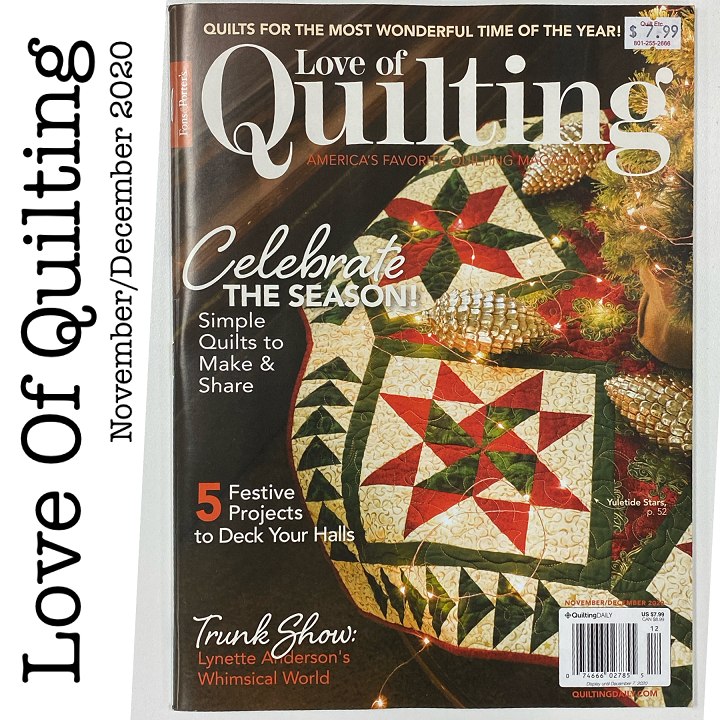 Love Of Quilting November/December 2020