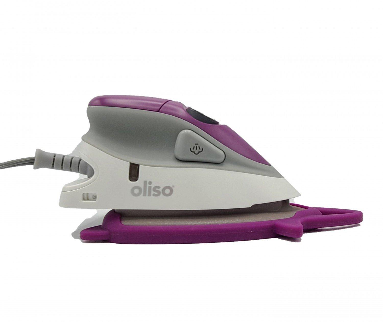 Oliso Mini Iron With Trivet - Purple
