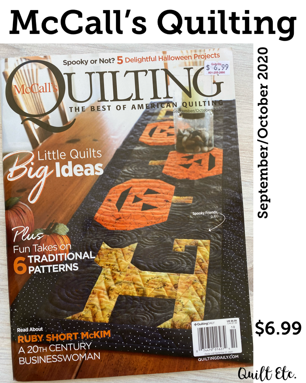 McCall's Quilting September/October 2020