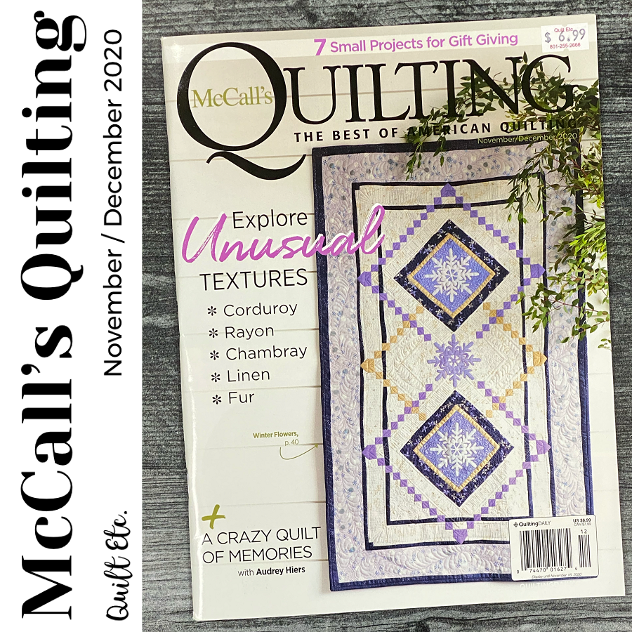 McCall's Quilting November/December 2020