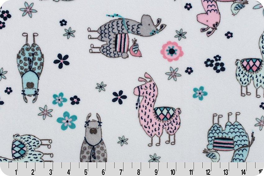 Minky Cuddle 60 Wide No Prob Llama