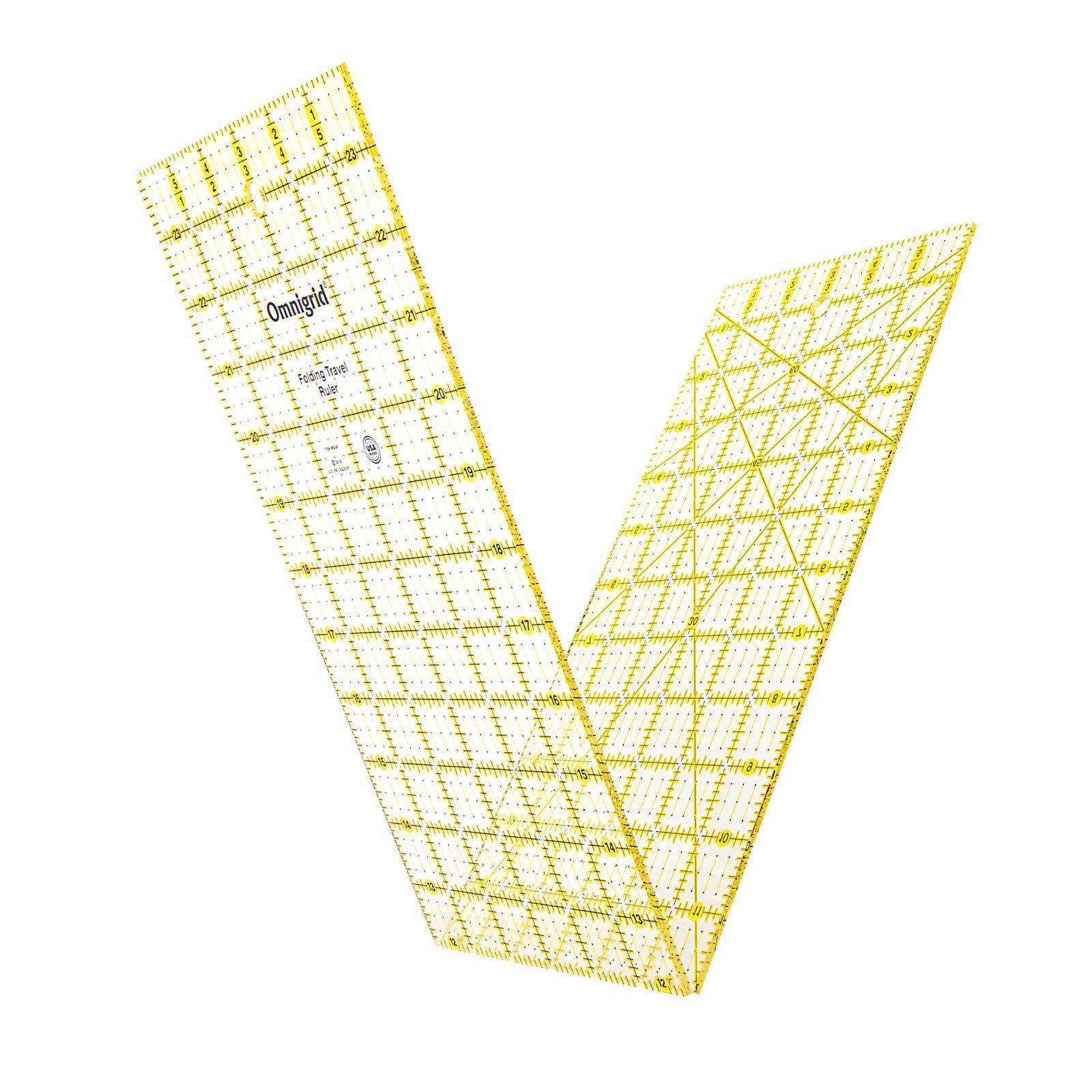 Omnigrid 6 x 24 Folding Ruler