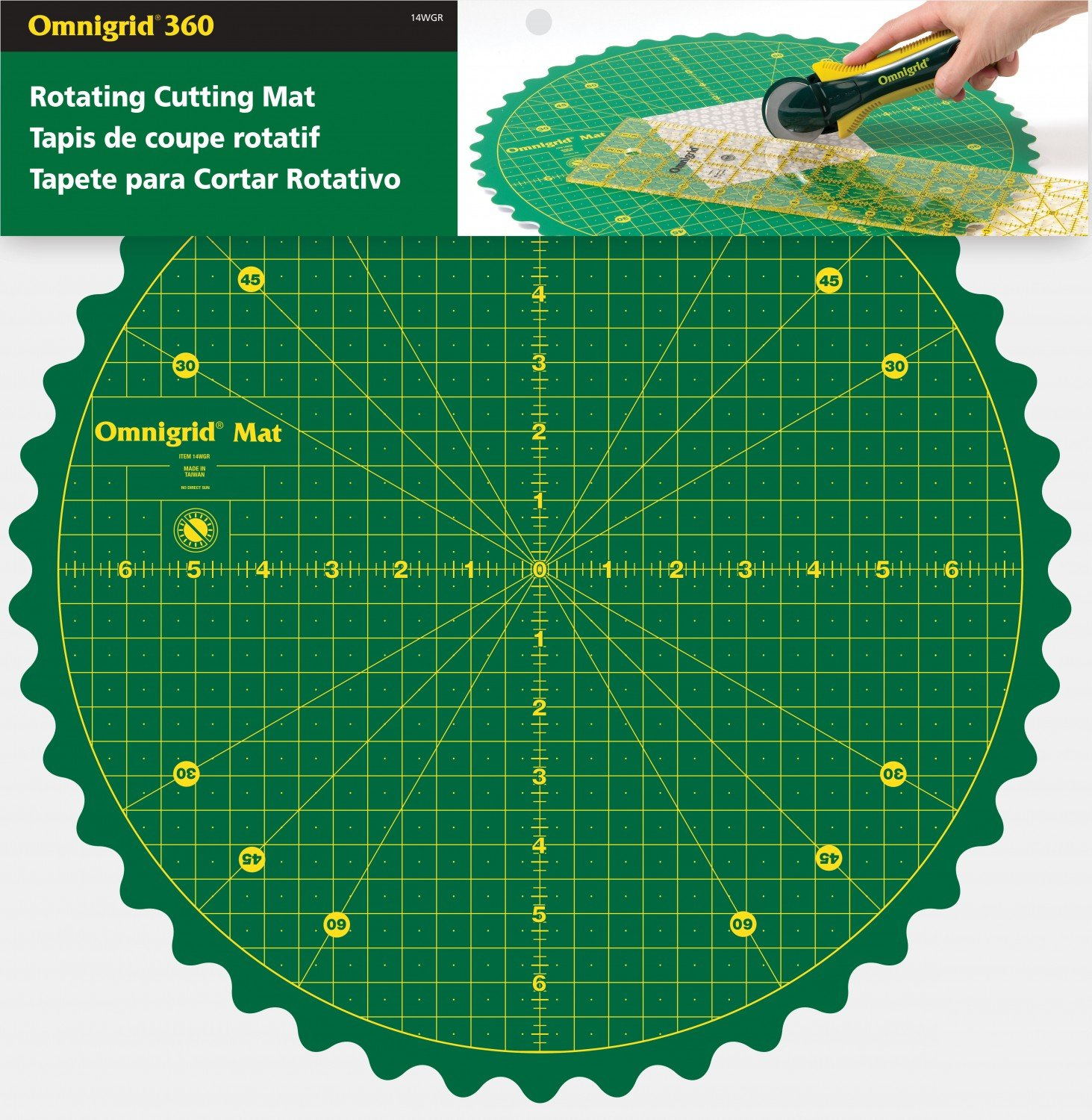 14 Rotating Cutting Mat Omnigrid