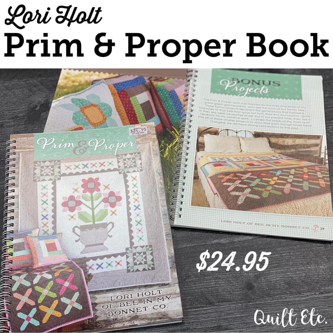 Prim & Proper Book