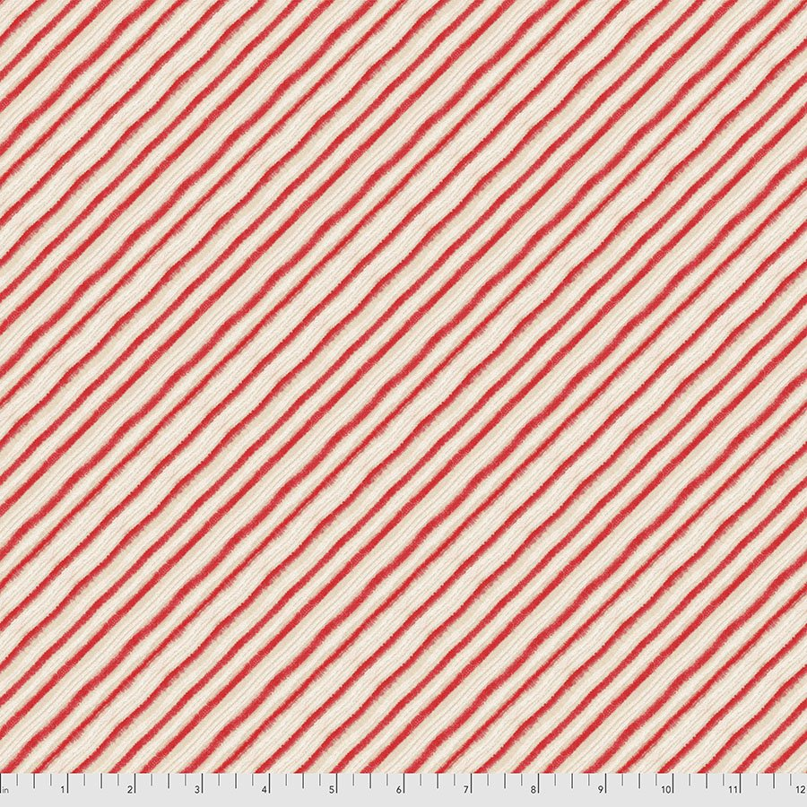 Holly Jolly - Peppermint Stripes 009-XRED