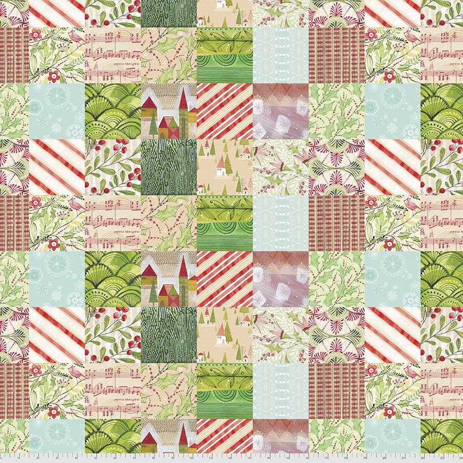 Holly Jolly - Jolly Patches Multi 010-XMULTI