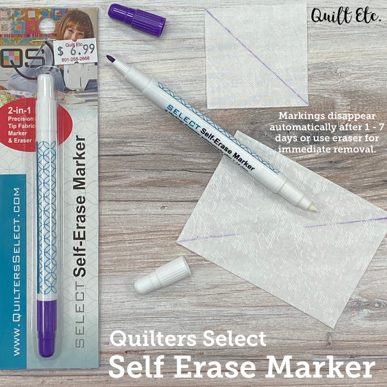Self Erase Marker