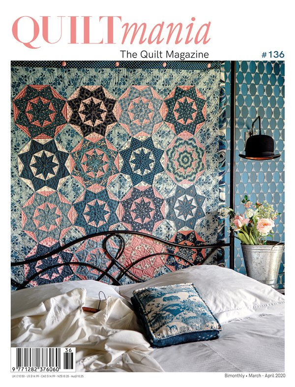 Quiltmania Magazine 136 March - April 2020