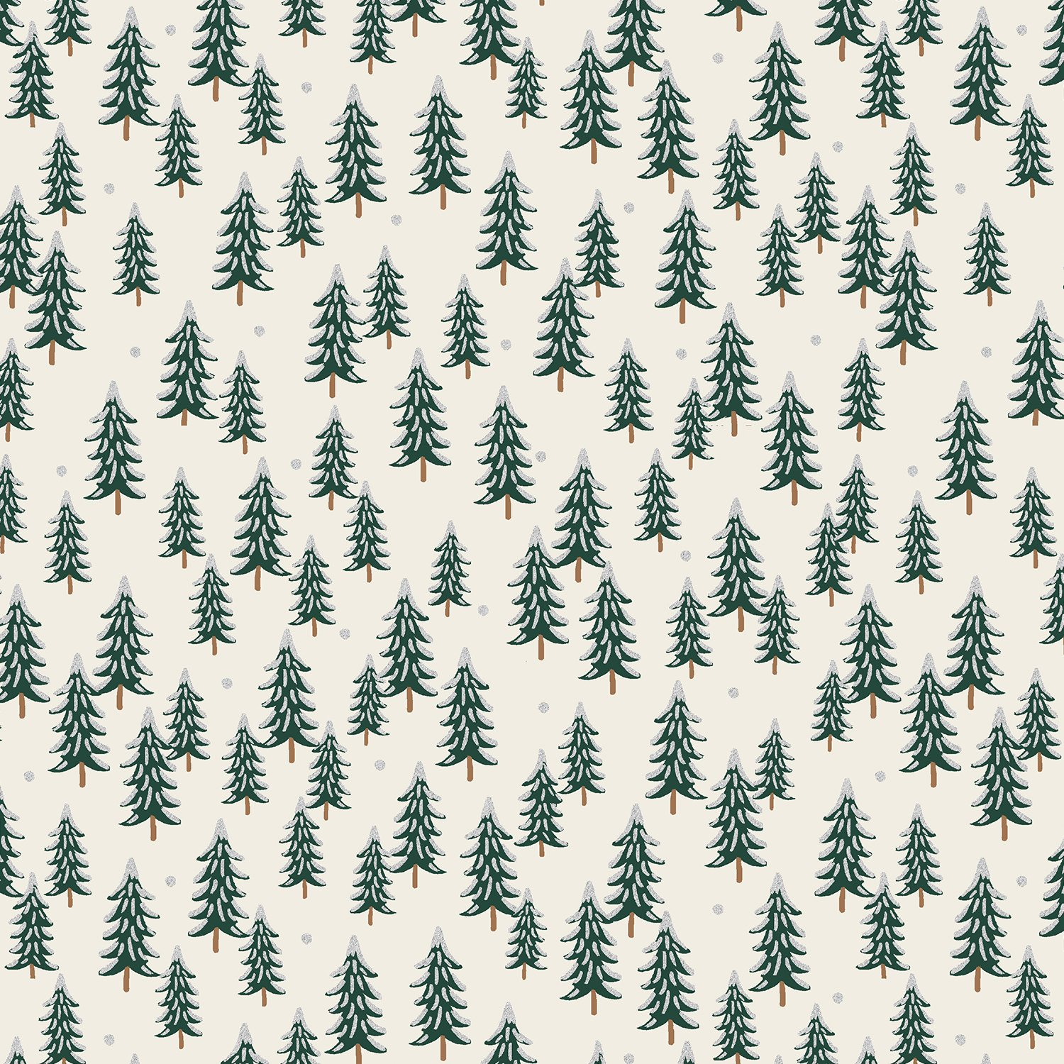 Holiday Classics - Fir Trees RP604-SI3M